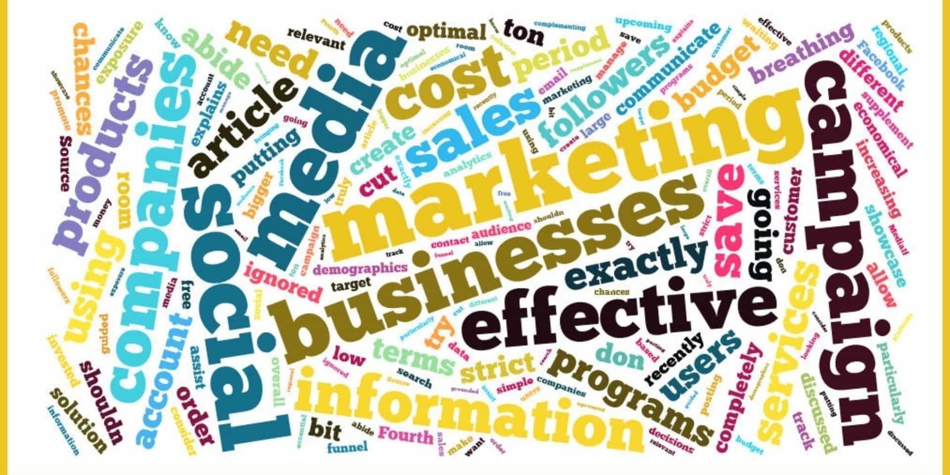 social media as marketing