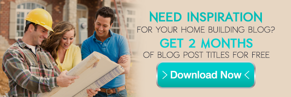 Download Our Home Builder Marketing Guide to Blog Posts