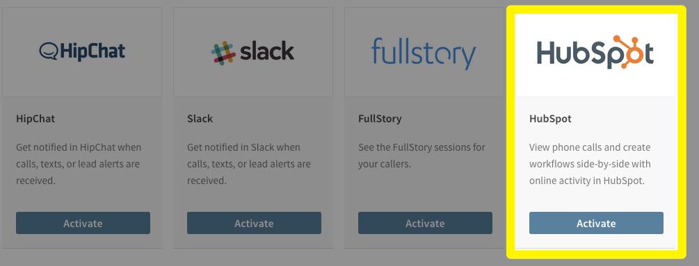 CallRail and HubSpot Call Tracking Integration