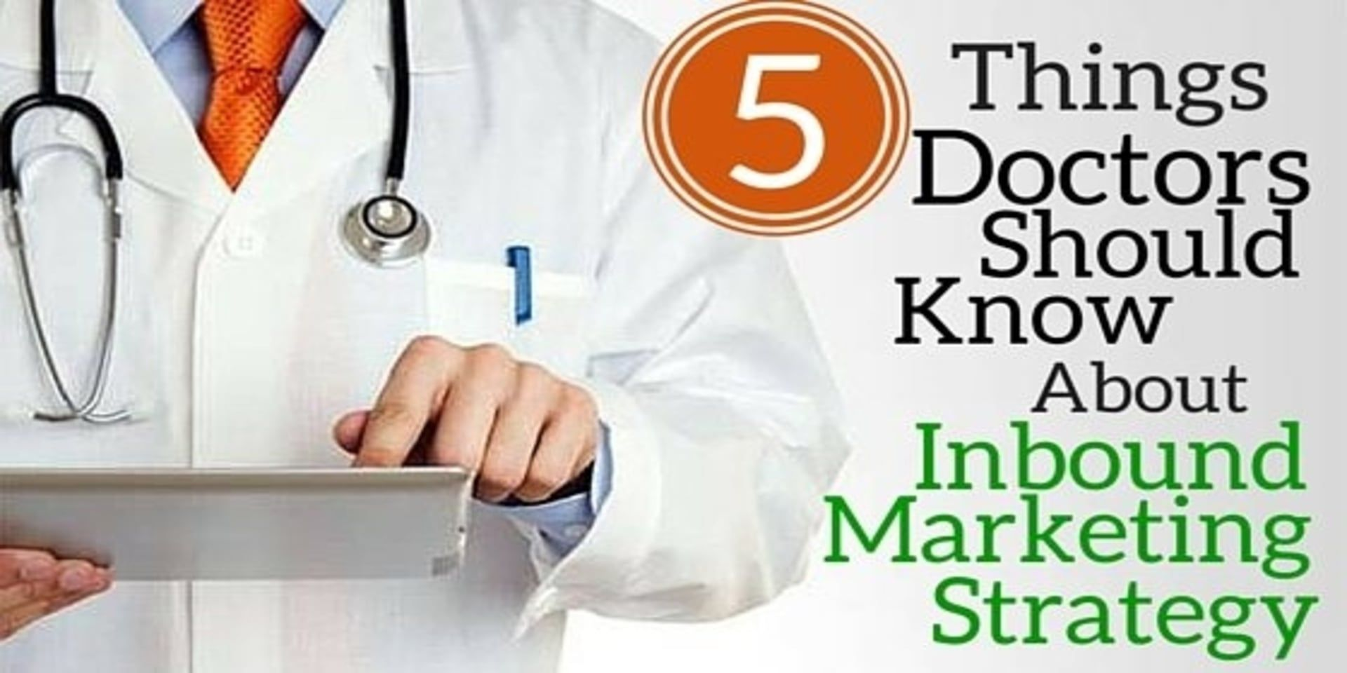 How to market yourself as a doctor