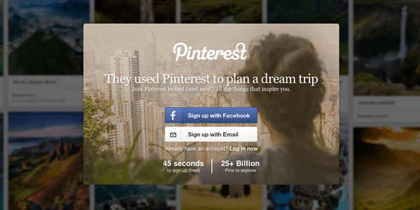 They used Pinterest to plan a dream trip.