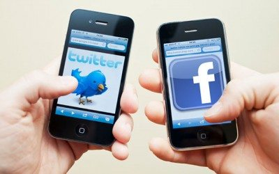 getting started with Facebook and Twitter