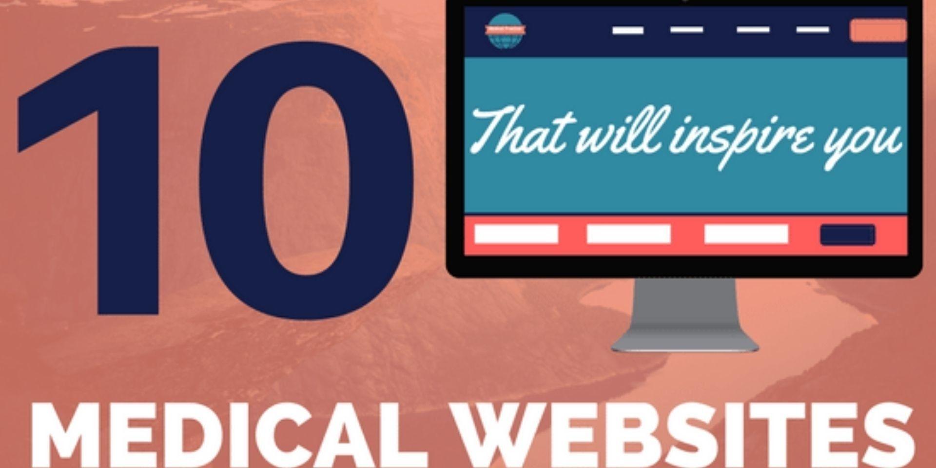 Modern medical website design