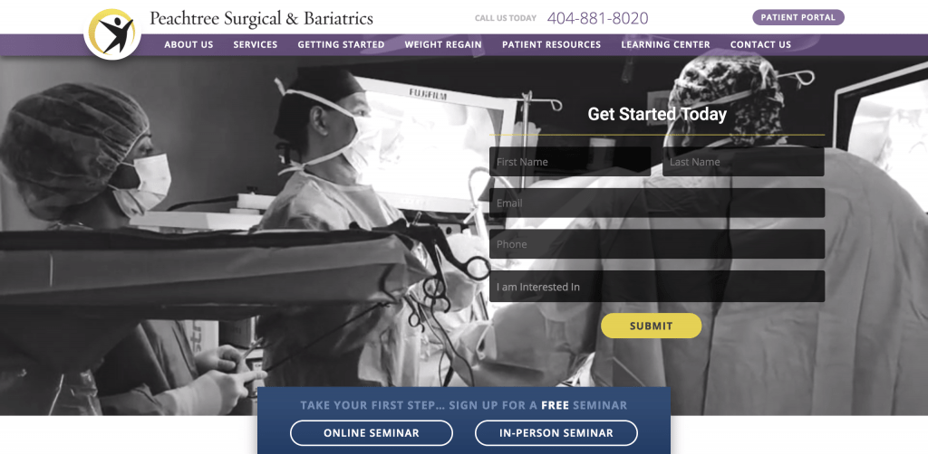 Medical Website 8