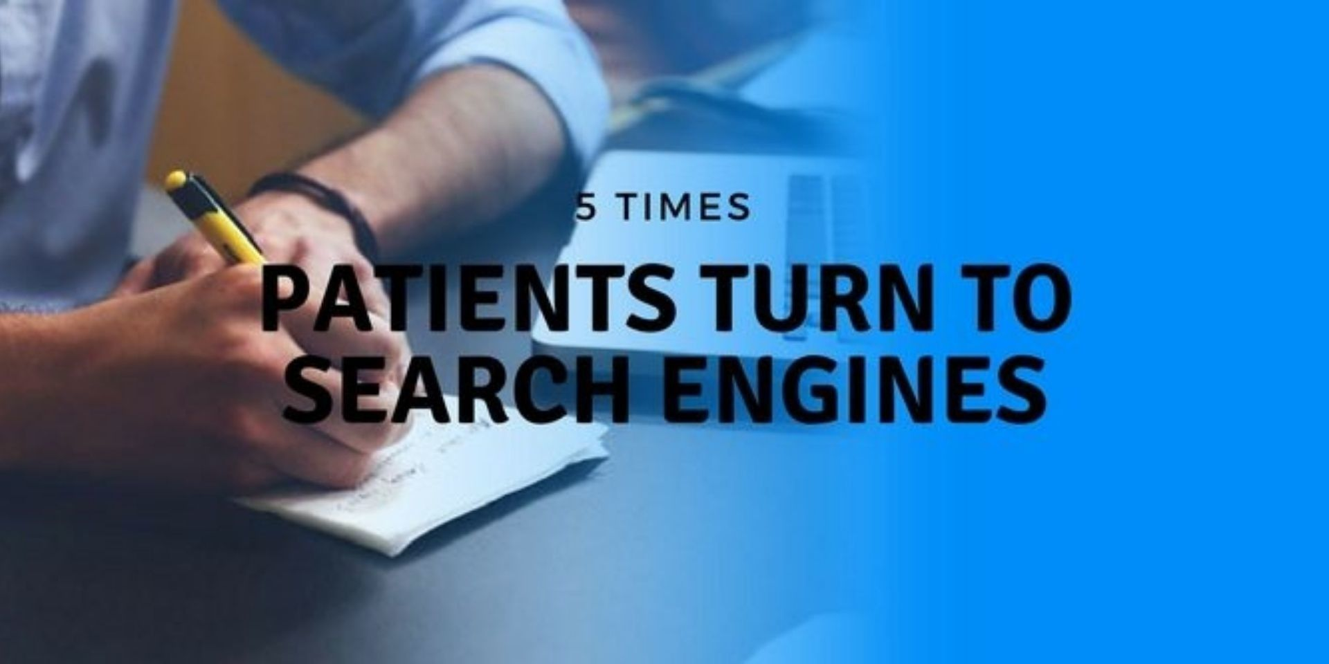 when patients use search engines