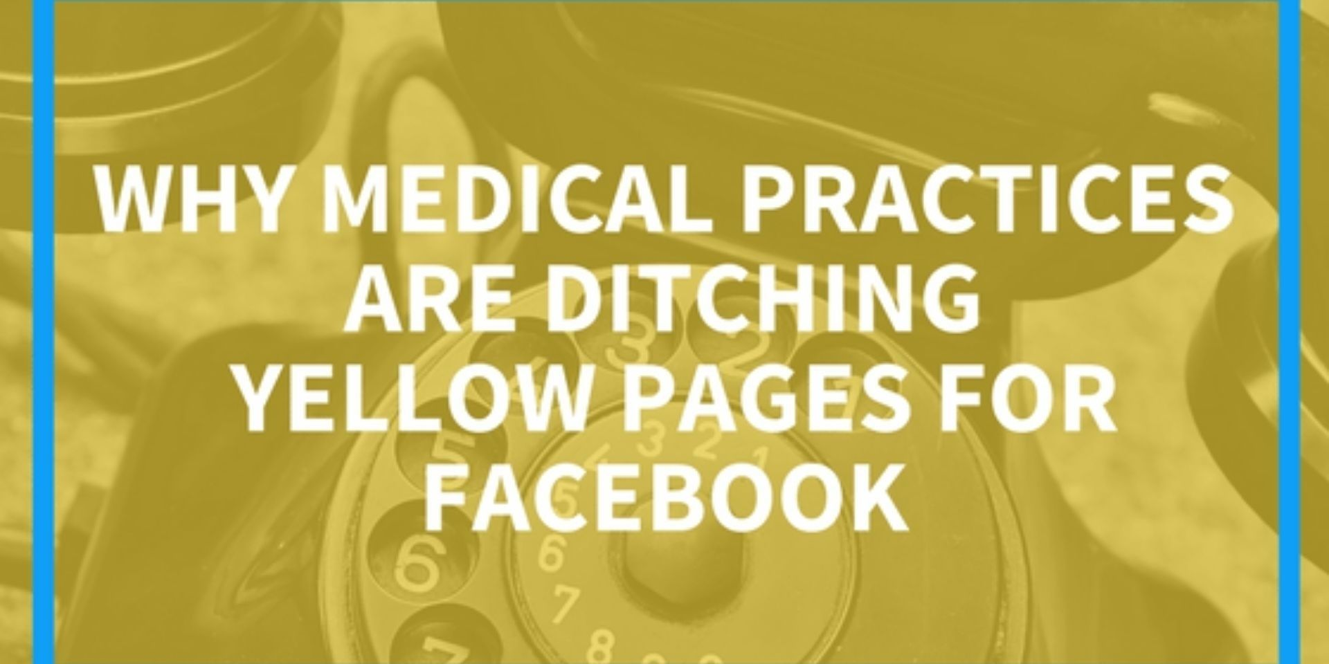 why choose facebook over the yellow pages
