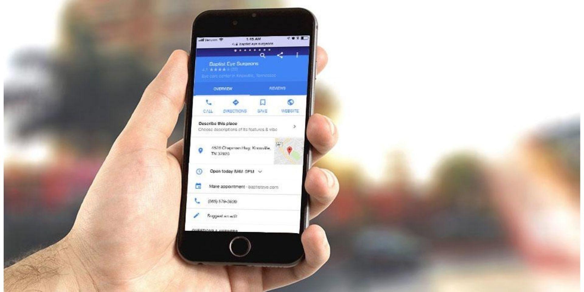 Google My Business scheduler