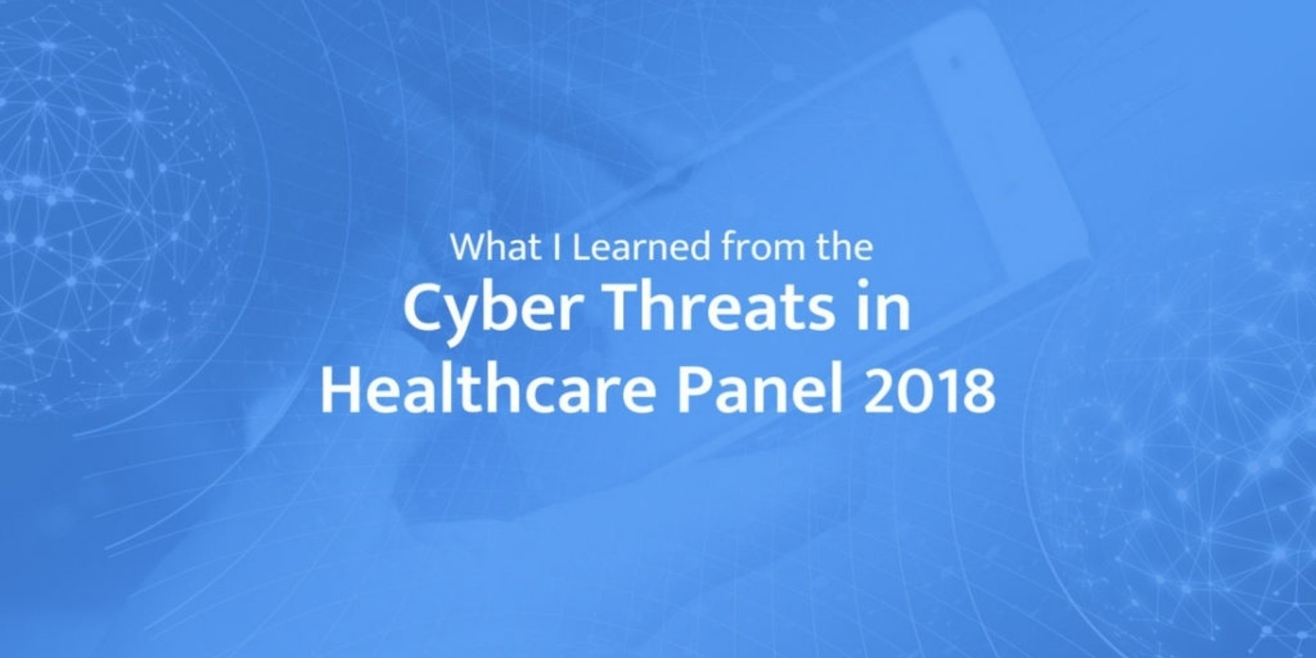 Cyber security in healthcare articles